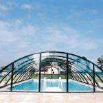 каркасное покрытие для бассейна