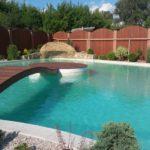 подиум в бассейне