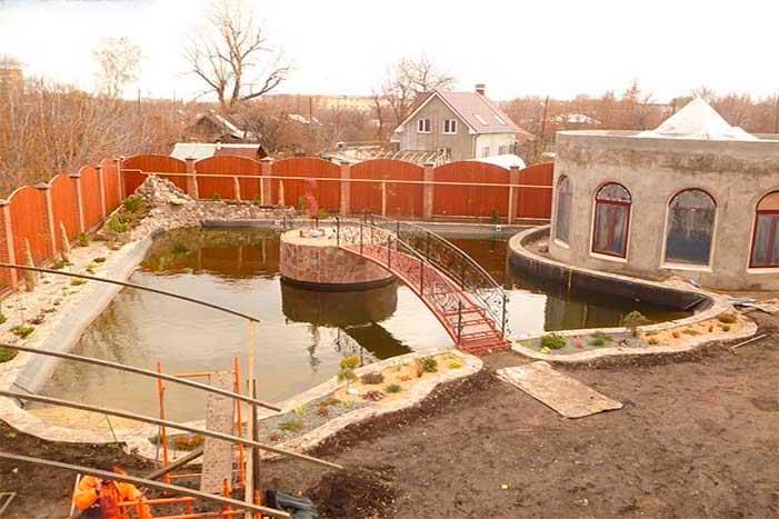 примеры бетонных бассейна